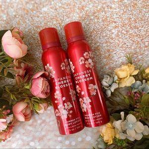 Bath and body works bbw JCB Japanese cherry blosso
